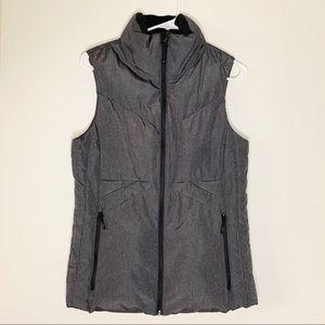 Champion Gray Puffer Vest